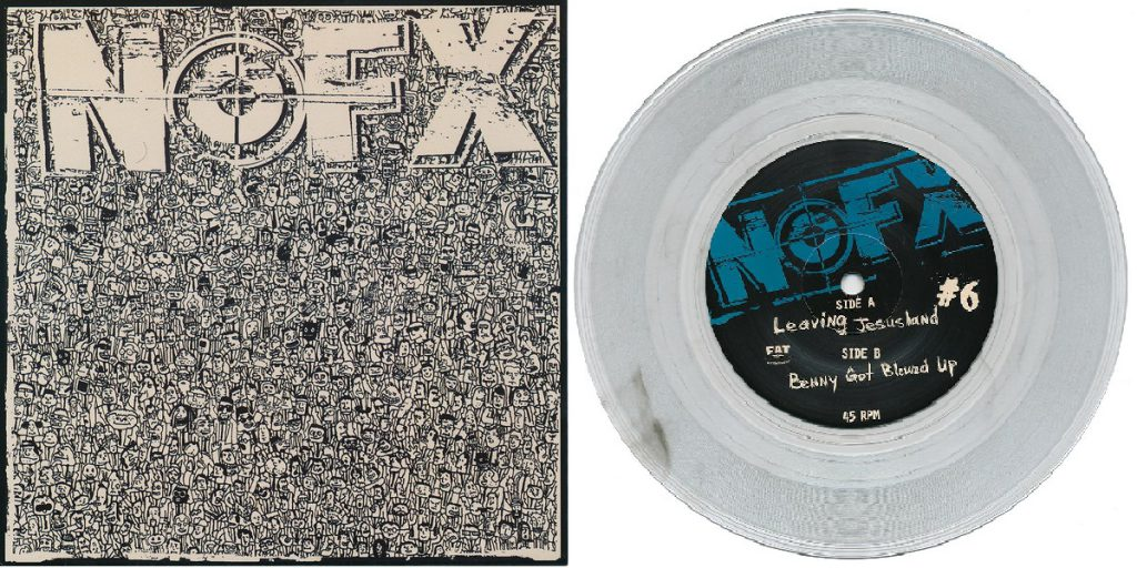 NOFX – 7 Inch Of The Month Club #6 clear with smoke